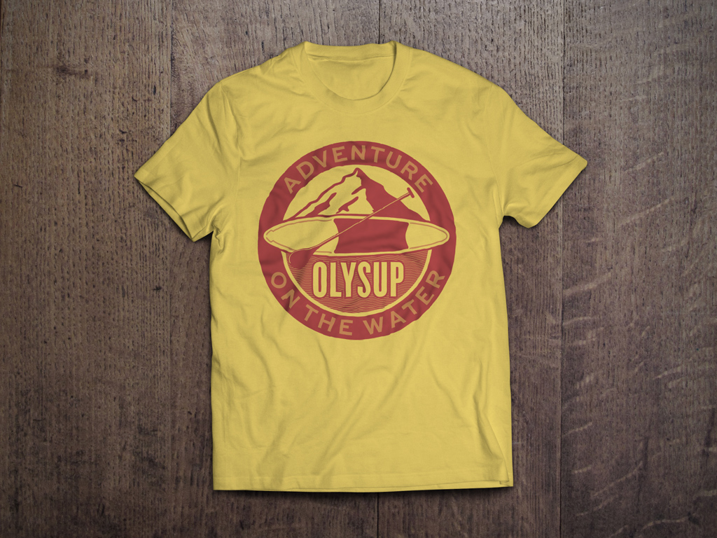 T-Shirt-MockUp-Yellow